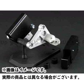 【無料雑誌付き】SPICE GPZ750R ニンジャ900 タンデムステップ関連パーツ タンデムキット(シルバー) スパイス