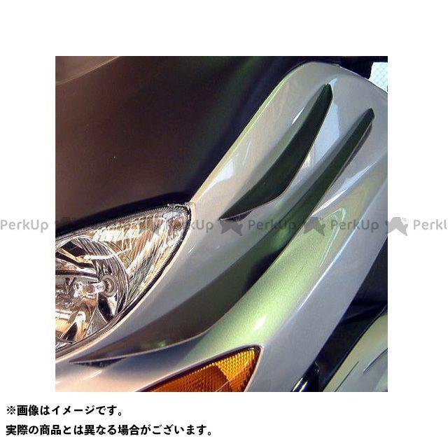 【エントリーでポイント10倍】 弥生 TMAX500 ドレスアップ・カバー GTカナード ショート&ロング シルバーカーボン