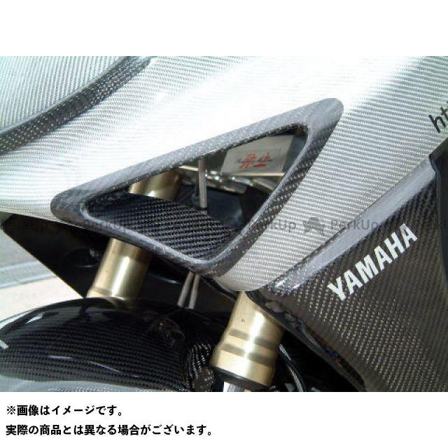 【エントリーで更にP5倍】ヤヨイ TMAX500 ドレスアップ・カバー ウインカーダクト 素材:FRP/黒ゲルコート 弥生
