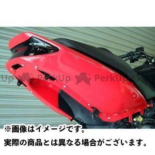 ヤヨイ TMAX500 カウル・エアロ シートカウルタイプ1/ストリート用 素材:シルバーカーボン 弥生
