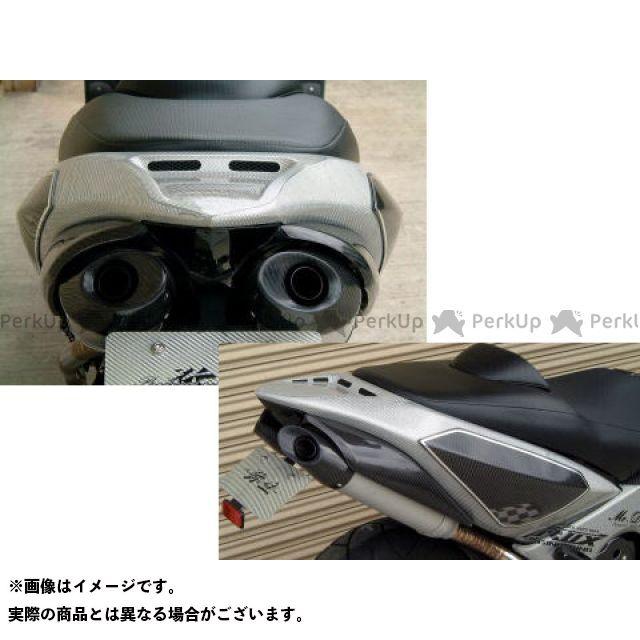 ヤヨイ TMAX500 カウル・エアロ シートカウル4 素材:FRP/黒ゲルコート 弥生