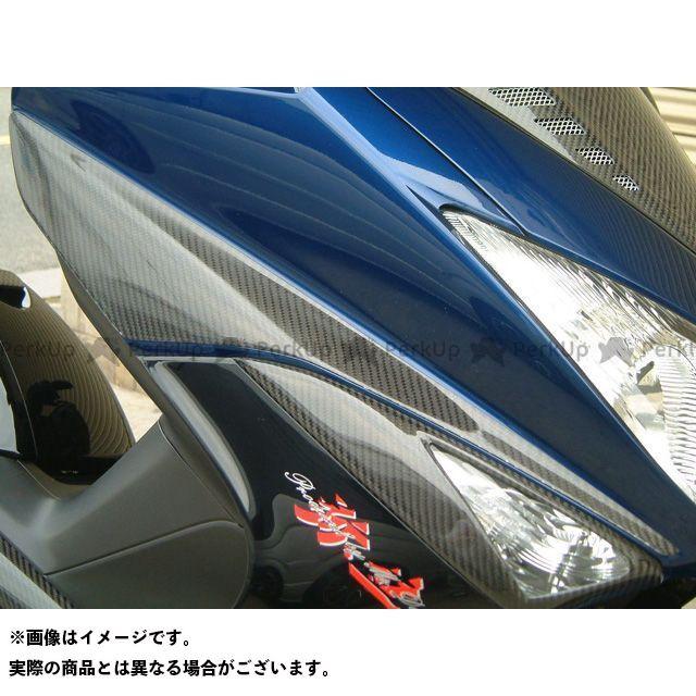ヤヨイ TMAX500 カウル・エアロ フロントカウルプロテクター 素材:シルバーカーボン 弥生