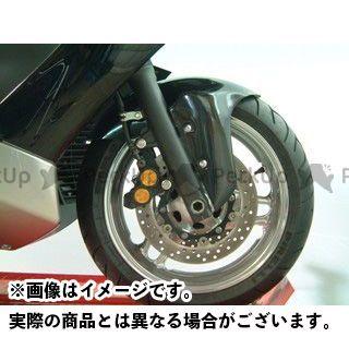 ヤヨイ TMAX500 フェンダー フロントフェンダータイプ2 ショート シルバーカーボン