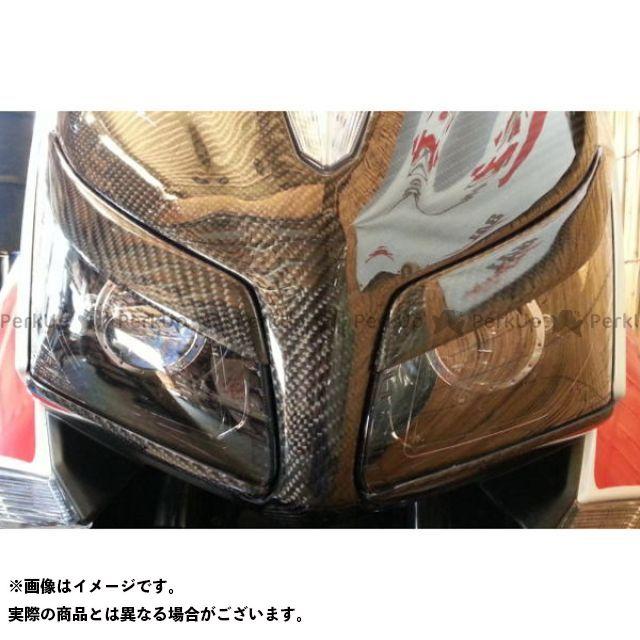 ヤヨイ TMAX530 ドレスアップ・カバー アイライン上タイプ1 素材:シルバーカーボン 弥生