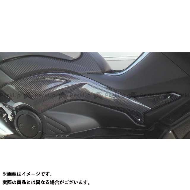 【エントリーで最大P23倍】ヤヨイ TMAX530 カウル・エアロ サイドモール ダクト無し 素材:カーボン 弥生