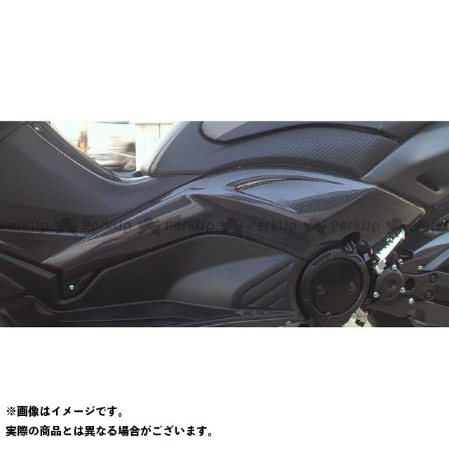 ヤヨイ TMAX530 カウル・エアロ サイドモール ダクト加工ネット有り 素材:FRP 弥生