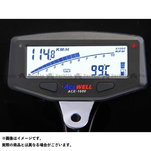 【エントリーで最大P23倍】ACE WELL スピードメーター ACE-1600 ACE WELL多機能デジタルメーター エースウェル