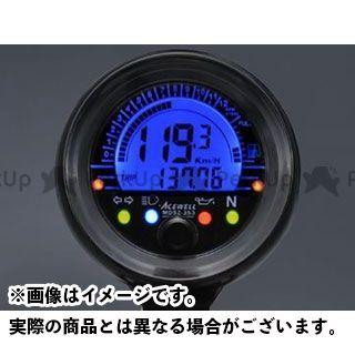 【エントリーで最大P23倍】ACE WELL 汎用 スピードメーター MD052-253 多機能デジタルメーター エースウェル