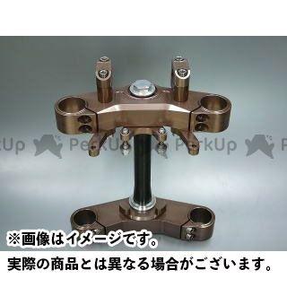 BORE-ACE SR400 SR500 トップブリッジ関連パーツ 特殊ステムキット バーハン用(フォーク径35mm/オフセット35mm) シルバーアルマイト