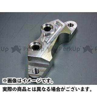 【エントリーで更にP5倍】BORE-ACE SR400 SR500 キャリパー キャリパーサポート ブレンボ40mm アクセル側 カラー:シルバーアルマイト ボアエース