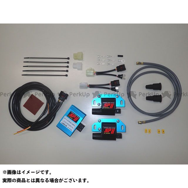 エーエスウオタニ 汎用 CDI・リミッターカット SPIIパワーコイルキット(汎用) 1P×2/コードセット付  ASウオタニ