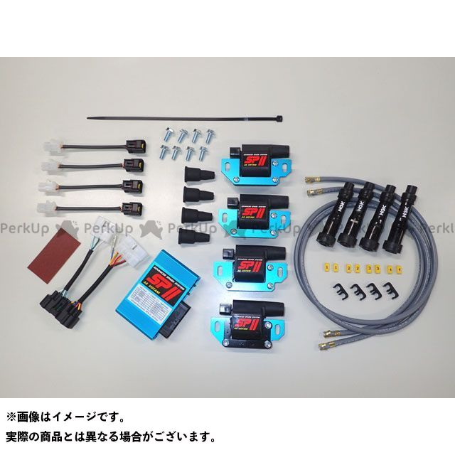 ASウオタニ エーエスウオタニ CDI・リミッターカット 電装品 エーエスウオタニ VMAX CDI・リミッターカット SPIIフルパワーキット Y.V-MAX-1 コードセット付  ASウオタニ