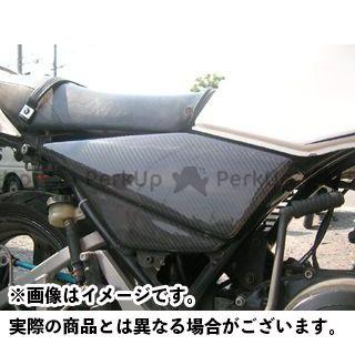 スティングアールアンドディー RZ250 カウル・エアロ RZ250用カーボン製サイドカバー(カーボン:綾織り) スティングR&D