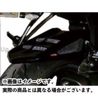 Powerbronze ニンジャZX-6R フェンダー メッシュド・インナーフェンダー M 左右+表面4穴メッシュ カラー:ブラック/シルバー パワーブロンズ
