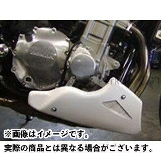 Powerbronze CB1300スーパーボルドール CB1300スーパーフォア(CB1300SF) カウル・エアロ アンダ-カウル(ホワイト/シルバーメッシュ) パワーブロンズ