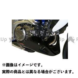 Powerbronze グラディウス650 カウル・エアロ アンダーカウル カラー:ブラック パワーブロンズ