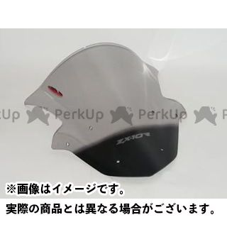 Powerbronze ニンジャZX-10R スクリーン関連パーツ エアフロー・スクリーン イリジウムシルバー