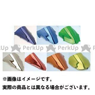 Powerbronze GSX-R600 GSX-R750 スクリーン関連パーツ エアフロー・スクリーン イリジウムアンバー