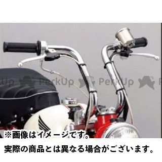 送料無料 SHIFTUP モンキー ハンドル関連パーツ 4cmアップタイプ セパレートハンドル(メッキ)