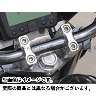 SHIFTUP XR100モタード XR50モタード トップブリッジ関連パーツ ビレットトップブリッジ・クランプセット シルバー シフトアップ