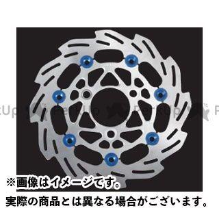 SHIFTUP ディスク 160mm ウェーブフローティングディスクローター カラー:シルバー/ブルーピン シフトアップ