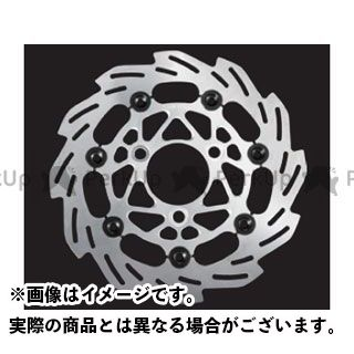 SHIFTUP ディスク 160mm ウェーブフローティングディスクローター カラー:シルバー/ブラックピン シフトアップ