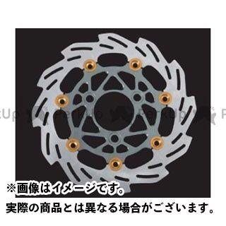 SHIFTUP シグナスX ディスク 260mm ウェーブフローティングディスクローター カラー:スモークガンメタ/ゴールドピン シフトアップ