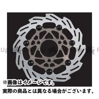 送料無料 SHIFTUP シグナスX ディスク 260mm ウェーブフローティングディスクローター チタン/ブラックピン