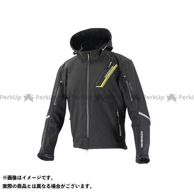 コミネ KOMINE ジャケット バイクウェア エントリーで最大P19倍 カラー:ブラック セール JK-579 プロテクトソフトシェルウィンターパーカ-イフ 送料無料 一部地域を除く サイズ:L