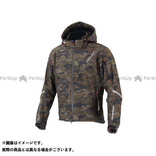 KOMINE ジャケット JK-579 プロテクトソフトシェルウィンターパーカ-イフ カラー:カモフラージュ サイズ:WM コミネ