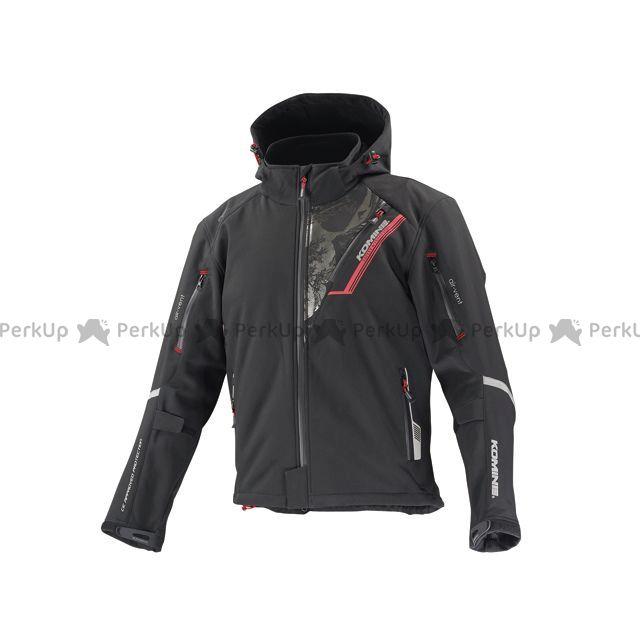 売り込み コミネ KOMINE ジャケット バイクウェア エントリーで最大P19倍 サイズ:WL 初回限定 プロテクトソフトシェルウィンターパーカ-イフ JK-579 フガク カラー:ブラック