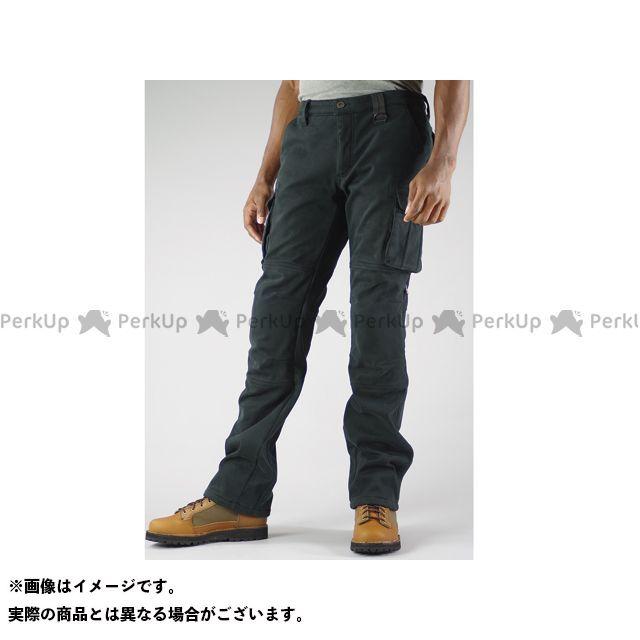 KOMINE パンツ PK-919 ウインドプルーフウォームカーゴパンツ カラー:ブラック サイズ:S/28 コミネ