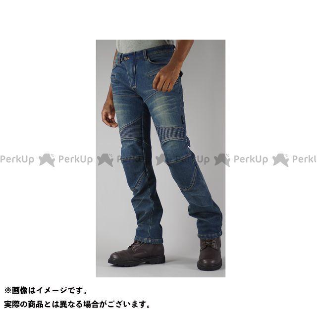 送料無料 コミネ KOMINE パンツ WJ-921S スーパーフィットウォームデニムジーンズ インディゴブルー 2XL/36