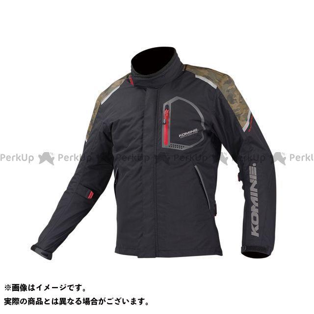 KOMINE ジャケット JK-586 コンフォートウィンタージャケット-フワ カラー:ブラック/カモ サイズ:XL コミネ