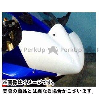 【エントリーで更にP5倍】CLEVERWOLF YZF-R1 ドレスアップ・カバー ゼッケンプレート タイプ:白FRP クレバーウルフ