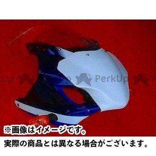 CLEVERWOLF GSX-R1000 ドレスアップ・カバー ゼッケンプレート(白FRP) クレバーウルフ