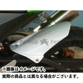 【エントリーで最大P21倍】CLEVERWOLF ニンジャZX-10R フェンダー リヤフェンダー 材質:カーボン平織 クレバーウルフ