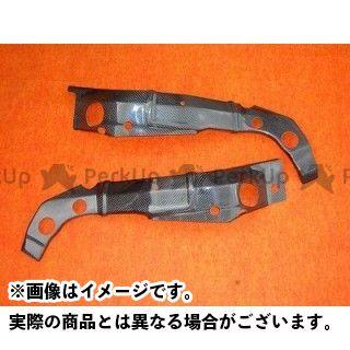 送料無料 CLEVERWOLF GSX-R1000 ドレスアップ・カバー フレームカバー カーボン綾織