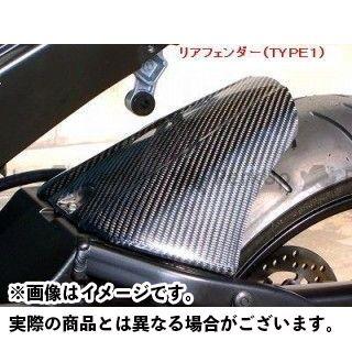 クレバーウルフ CLEVERWOLF フェンダー 外装 CLEVERWOLF GSX-R1000 フェンダー リヤフェンダー・タイプ1 黒FRP クレバーウルフ