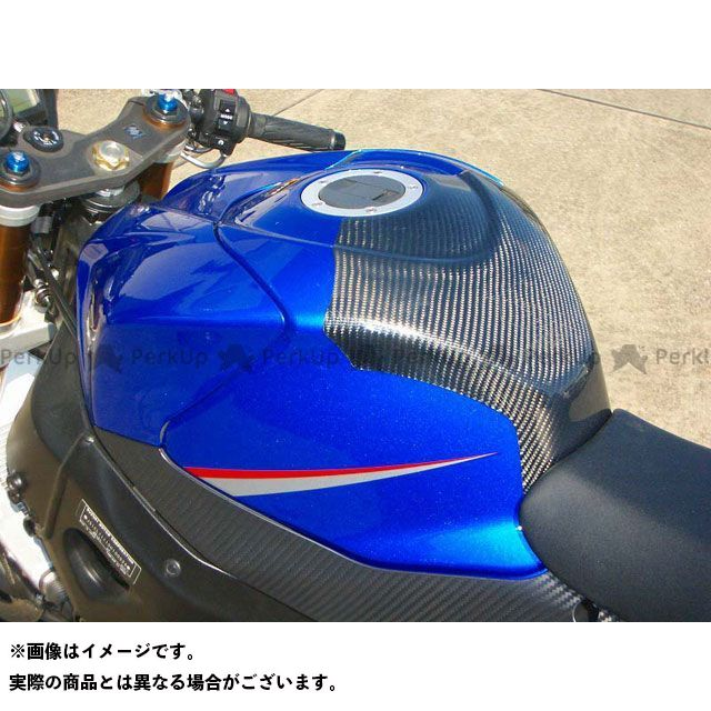 CLEVERWOLF GSX-R1000 ドレスアップ・カバー タンクプロテクター 材質:カーボン綾織 クレバーウルフ