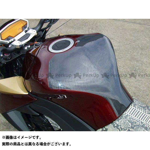 CLEVERWOLF Z1000 ドレスアップ・カバー タンクプロテクター 材質:カーボン綾織 クレバーウルフ