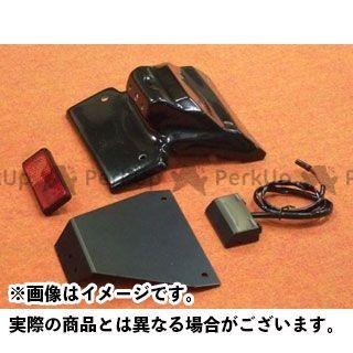 送料無料 CLEVERWOLF GSX-R600 GSX-R750 フェンダー フェンダーレスキット(黒FRP)