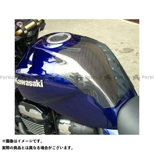 CLEVERWOLF ZRX1200ダエグ ドレスアップ・カバー タンクプロテクター 材質:カーボン綾織 クレバーウルフ