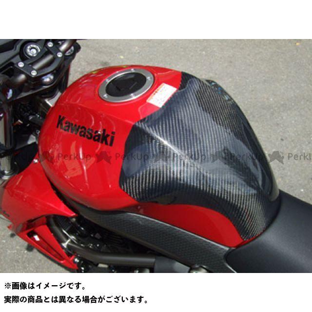 CLEVERWOLF ドレスアップ・カバー タンクプロテクター 材質:カーボン綾織 クレバーウルフ