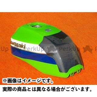 CLEVERWOLF ZRX1100 ZRX1200R ドレスアップ・カバー タンクプロテクター 材質:カーボン綾織 クレバーウルフ