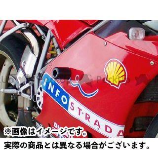 アールアンドジー 748 916 996 スライダー類 クラッシュプロテクター(ブラック) R&G