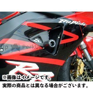 【エントリーで更にP5倍】アールアンドジー CBR900RRファイヤーブレード スライダー類 クラッシュプロテクター カラー:ホワイト R&G