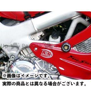 アールアンドジー ファイアーストーム スライダー類 クラッシュプロテクター カラー:ホワイト R&G