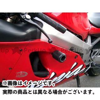 【エントリーで最大P21倍】アールアンドジー ニンジャZX-7R スライダー類 クラッシュプロテクター カラー:ホワイト R&G