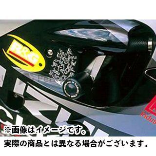 【エントリーで更にP5倍】アールアンドジー GSX-R600 GSX-R750 スライダー類 クラッシュプロテクター カラー:ホワイト R&G